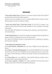 Elenco dei premiati 2012/2013 - Istituto Lombardo Accademia di ...