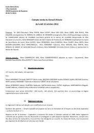 Télécharger le Compte Rendu - Sauveterre-de-Guyenne