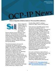 Volume 10 Issue 4 - OCP-IP