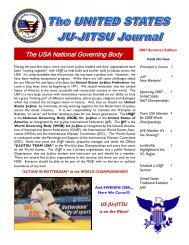 The USA National Governing Body - United States Ju-Jitsu Federation