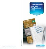 Expenses made easy with Visa Business cards - Business Banking
