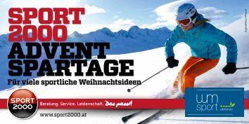 Die Adventspartage: 28. 11. – 24. 12. 2013 - WM Sport Abtenau
