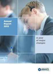 Annual Report 2012 A year of major changes - Cision