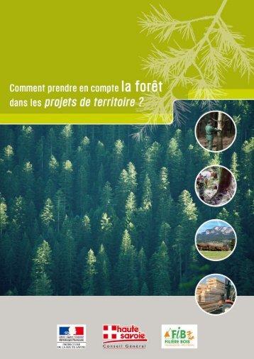 Comment prendre en compte la forêt dans les projets de territoire