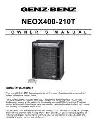 NEOX400-210T - Genz Benz