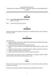 Stanovy občanského sdružení - Základní škola Koperníkova