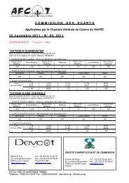 COMMISSIONDESECARTS 25 novembre 2011 - AFCOT