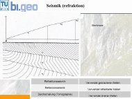 Seismik (refraktion)