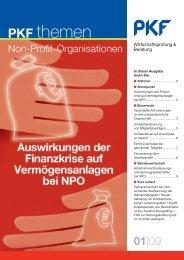 09 Auswirkungen der Finanzkrise auf Vermögensanlagen bei ... - PKF