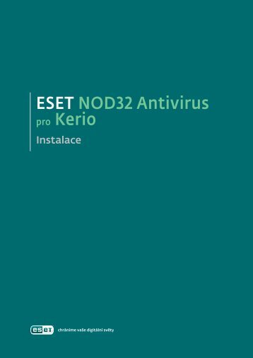 Eset NOD32 Antivirus pro Kerio Connect - NOD32 - Eset