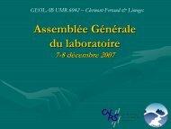 AG du 7-8 décembre 2007 - geolab