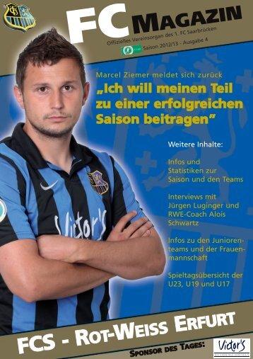 Zeig, was du fühlst! - 1. FC Saarbrücken