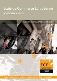 Ecole de Commerce Européenne - L'Etudiant
