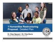 1 Humanities Proposal - Evanston Township High School   District 202