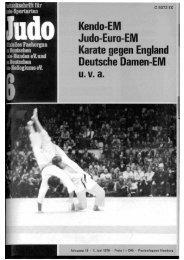 DJB-Magazin Nr. 6 - Chronik des deutschen Karateverbandes