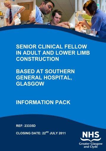 Job Description for Clinical Fellows Division ... - BMJ Careers