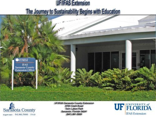 Investing in the Economic Benefits of Local Foods - Sarasota County ...