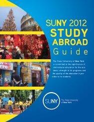 study abroad - State University of New York