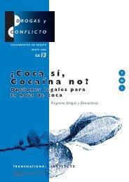 Descargar el informe - ¿Coca sí, cocaína no? - Transnational Institute