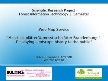 PDF, 2.434 KB - Hochschule für nachhaltige Entwicklung Eberswalde