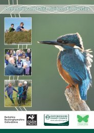 Community and Parish Guide to Biodiversity - Oxfordshire County ...