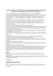 Décret exécutif n ° 07-321 du 10 Chaoual 1428 ... - Santé-DZ