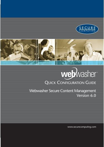 Webwasher Secure Content Management 6.0 ... - Errors - McAfee
