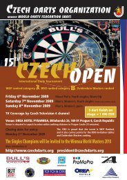 CZECH DARTS ORGANIZATION