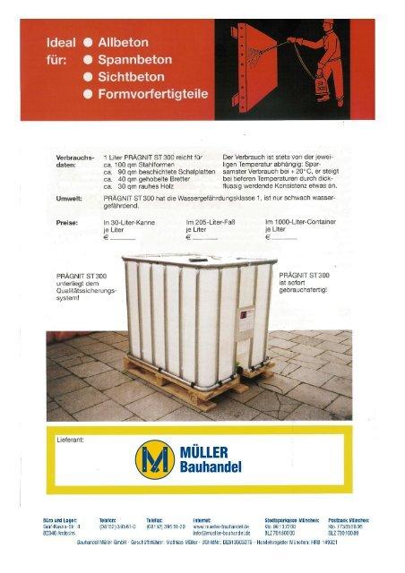 Prägnit ST 300 - Bauhandel Müller GmbH