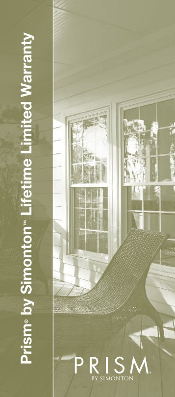 Lifetime Limited Warranty - Home Doors & Windows