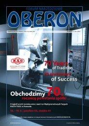 numer 02 (39) 2009 - Forum Narzędziowe Oberon