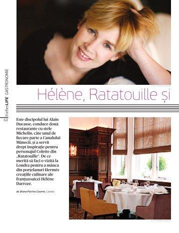 Hélène, Ratatouille și - Diana-Florina Cosmin