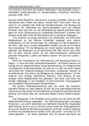 Das Ende des Zweiten Weltkrieges in der Nordpfalz