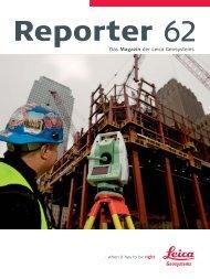 Reporter No. 62, April 2010, Deutsch (PDF 2,07 MB) - Leica ...