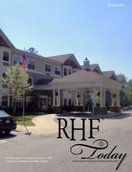 Spring 2012 - Retirement Housing Foundation