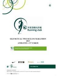 old mutual two oceans marathon 2013 athletes - cv's 56km