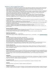 Master di II livello in sessuologia clinica.pdf - NewsPsic - Eventi per ...
