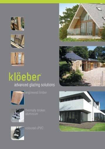 Kloeber Catalogue - Ecobuild Product Search