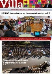 UERGS deve alavancar desenvolvimento do RS ... - Adão Villaverde