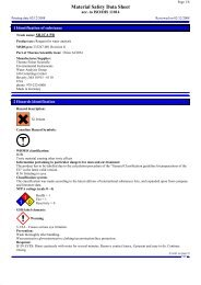 AC2061 MSDS (38 Kb) - Thermo Scientific