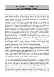 YAZIRAT- AL – ANDALUS por Ángel Rodríguez Álvarez.