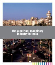 The electrical machinery industry in India - Teknikföretagen