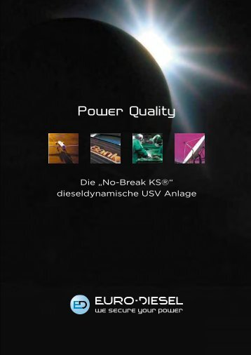 ED/Power Quality E-7510 - EURO-DIESEL
