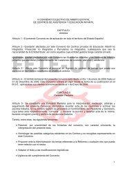 X CONVENIO COLECTIVO DE AMBITO ESTATAL DE ... - FETE-UGT