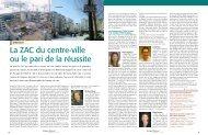 La ZAC du centre-ville ou le pari de la réussite - Boulogne - Billancourt