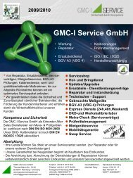 Kein Folientitel - GMC-I Service GmbH
