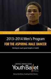 2013-2014 Men's Program Brochure - Central Pennsylvania Youth ...