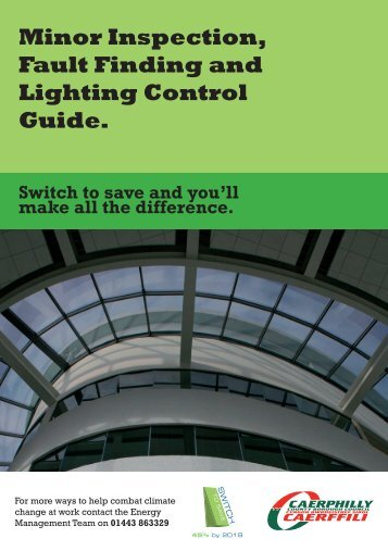 Minor inspection, fault finding and lighting control guide (PDF 3.9mb)