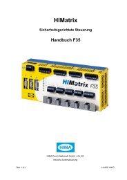 HIMatrix Sicherheitsgerichtete Steuerung Handbuch F35