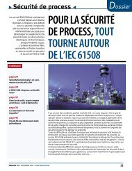 Dossier sécurité de process - EIC2 SA